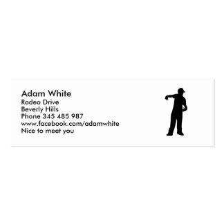 Rapper Mini Business Card