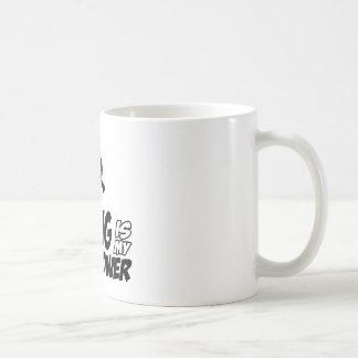 Rapping hip hop designs classic white coffee mug