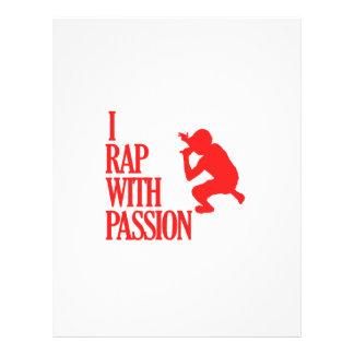 rapping  sports designs letterhead design