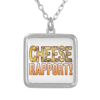 Rapport Blue Cheese Silver Plated Necklace