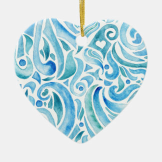 rapport WAVES 2 Ceramic Ornament