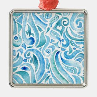 rapport WAVES 2 Metal Ornament