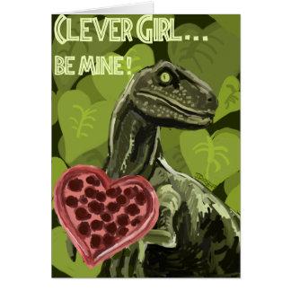 Raptor Love Card