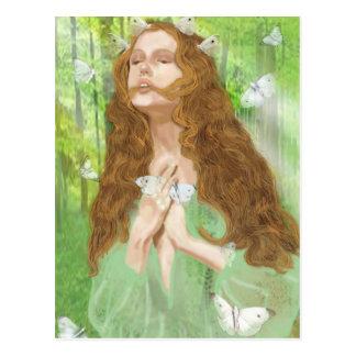 Rapture (Nymph) Postcard