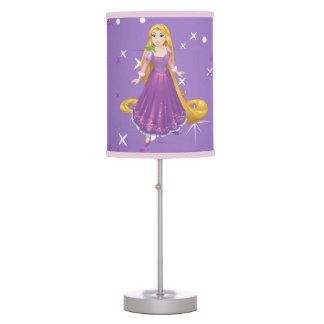 Rapunzel And Pascal Table Lamp
