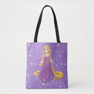 Rapunzel And Pascal Tote Bag