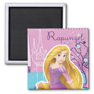 Rapunzel - Artistic Princess Magnet