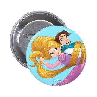 Rapunzel | Bad Hair Day 2 Inch Round Button