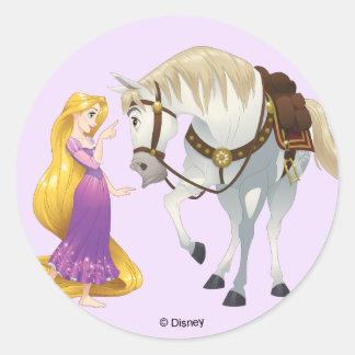 Rapunzel | Besties 4Ever Classic Round Sticker