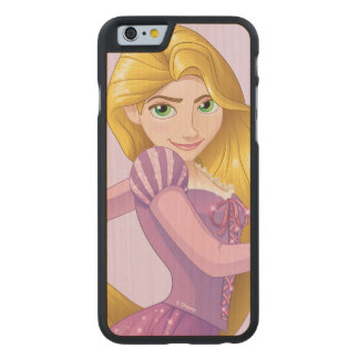 Rapunzel | Big Hair Day Carved® Maple iPhone 6 Case