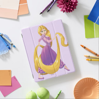 Rapunzel | Big Hair Day iPad Cover