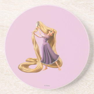 Rapunzel Brushing Hair 2 Coaster