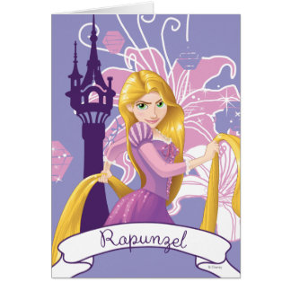 Rapunzel - Determined Card