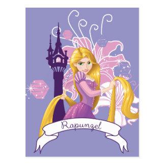 Rapunzel - Determined Postcard