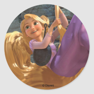 Rapunzel | Dream Big Classic Round Sticker