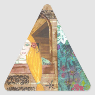 Rapunzel, Dreaming Triangle Sticker
