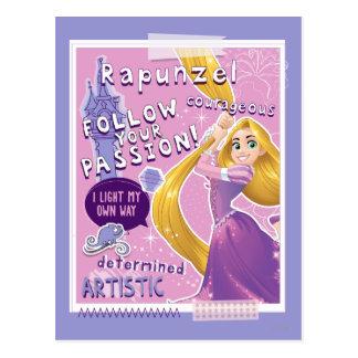 Rapunzel - Follow Your Passion Postcard