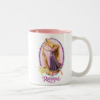 Rapunzel Frame Two-Tone Coffee Mug