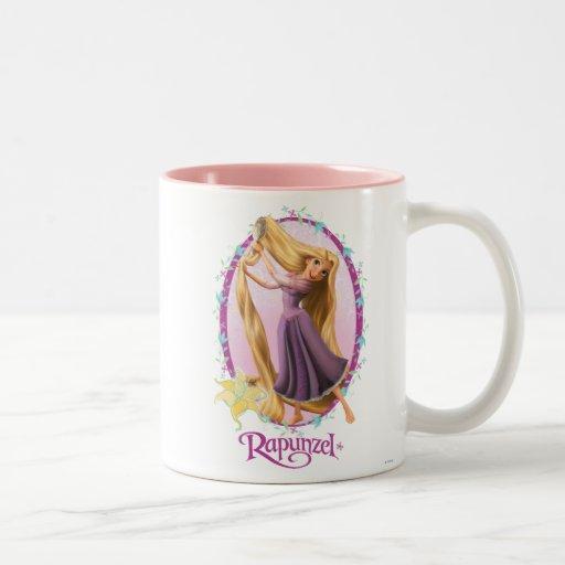 Rapunzel Frame Mugs