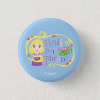 Rapunzel - Hair to the Throne 1 Inch Round Button