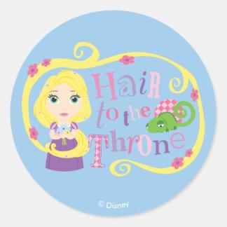 Rapunzel - Hair to the Throne Classic Round Sticker