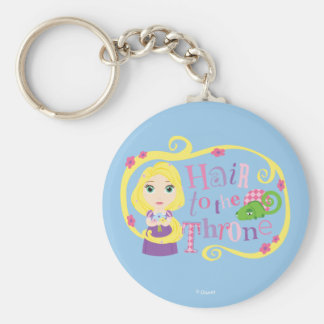 Rapunzel - Hair to the Throne Keychain