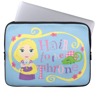 Rapunzel - Hair to the Throne Laptop Sleeve