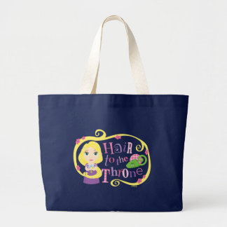 Rapunzel - Hair to the Throne Large Tote Bag