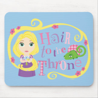 Rapunzel - Hair to the Throne Mouse Pad