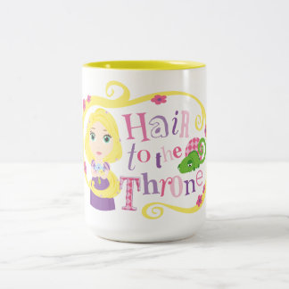Rapunzel - Hair to the Throne Two-Tone Coffee Mug
