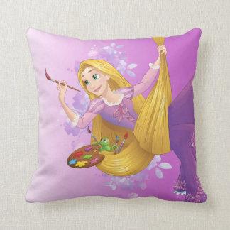 Rapunzel   Hanging Around Throw Pillow