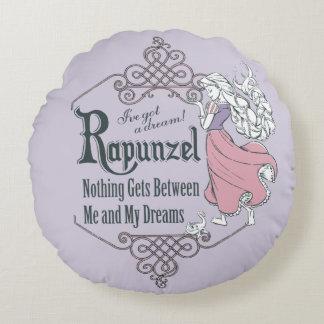 Rapunzel   I've Got a Dream! Round Pillow
