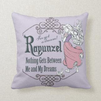 Rapunzel   I've Got a Dream! Throw Pillow
