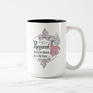 Rapunzel   I've Got a Dream! Two-Tone Coffee Mug