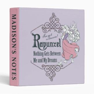 Rapunzel   I've Got a Dream! Vinyl Binders