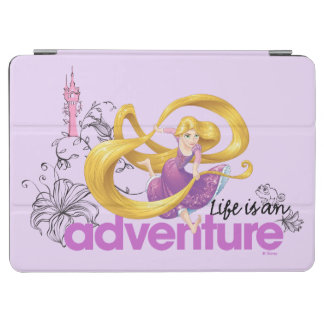 Rapunzel | Life Is An Adventure iPad Air Cover