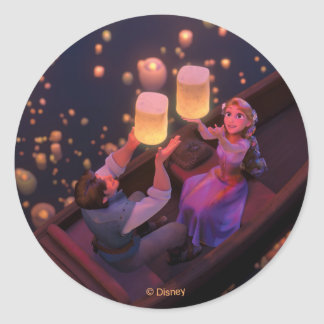 Rapunzel | Make Your Own Magic Classic Round Sticker