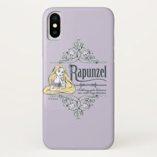 Rapunzel   Nothing Between Me and My Dreams iPhone X Case