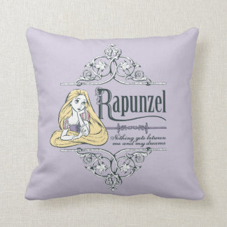 Rapunzel   Nothing Between Me and My Dreams Throw Pillow