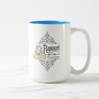 Rapunzel | Nothing Between Me and My Dreams Two-Tone Coffee Mug