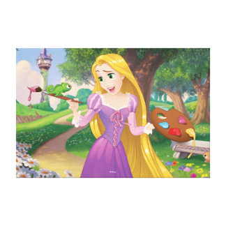 Rapunzel | Painting With Pascal Canvas Print