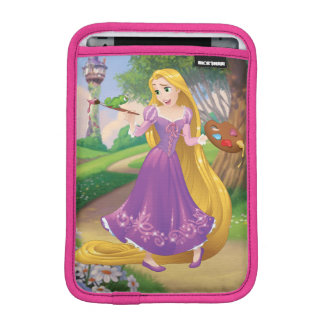 Rapunzel | Painting With Pascal iPad Mini Sleeve