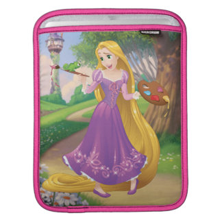 Rapunzel | Painting With Pascal iPad Sleeve