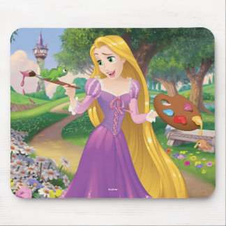 Rapunzel | Painting With Pascal Mouse Pad