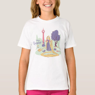 Rapunzel & Pascal in Pretty Pastels T-Shirt