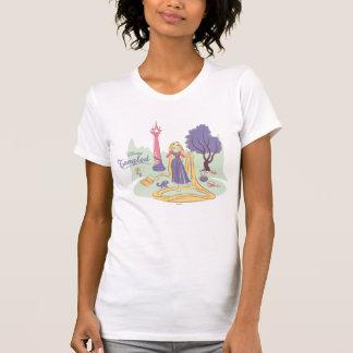 Rapunzel & Pascal in Pretty Pastels T-Shirt