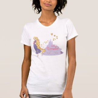 Rapunzel & Pascal in Purple T-Shirt