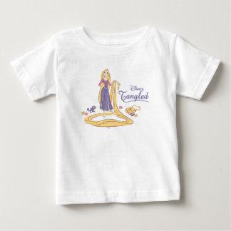 Rapunzel & Pascal Purple Pastels Baby T-Shirt