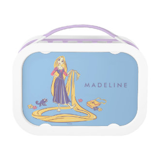 Rapunzel & Pascal Purple Pastels Lunch Box