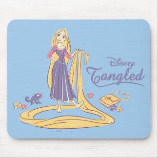 Rapunzel & Pascal Purple Pastels Mouse Pad